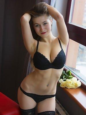 Black underwear of lust